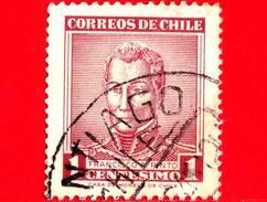 CILE  - Usato - 1960 - Francisco Antonio Pinto (1785-1858) - 1