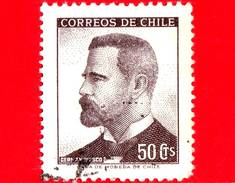 CILE  - Usato - 1966 - Presidente German Riesco (1854-1916) - 50