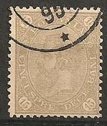 Timbres - Roumanie - 1890 - 15 B. - N° 80 -