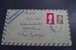 175. Letter Argentina(Villa Marteli)-Yugoslavia(Ajdovscina) 2 - 1945-1992 Socialist Federal Republic Of Yugoslavia