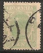 Timbres - Roumanie - 1894 - 10 B. - N° 104 -