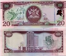 TRINIDAD & TOBAGO       20 Dollars       P-New      2006 (2017)     UNC [ Sign. Hilaire ] - Trindad & Tobago