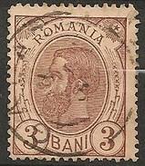 Timbres - Roumanie - 1894 - 3 B. - N° 101 -