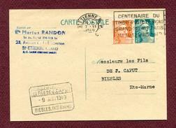 "810-CP1  : "" SAINT-ETIENNE ""  1949"