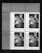 CANADA, 2008, # 2270,  YOUSUF KARSH Self Portrait,   UL BLOCK OF 4          MNH,  FROM UNCUT SHEET - Blocks & Sheetlets