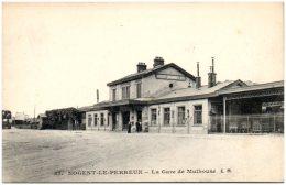 94 NOGENT - LE PERREUX - La Gare De Mulhouse     (Recto/Verso) - Nogent Sur Marne