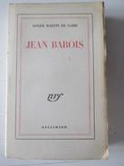 Jean Barois Roger Martin Du Gard  Foi Christianisme - Religion
