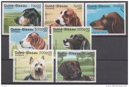 Chiens Dogs Honden Serie Guiné-Bissau 1988 Oblitéré - Used - Gebruikt
