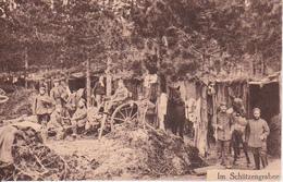 AK Deutsche Soldaten - Im Schützengraben -  Feldpost Landsturm Bataillon Braunschweig - 1916 (28949) - War 1914-18