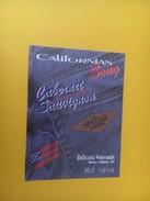 4241 - California Song Cabernet Sauvignon USA - Etiquettes