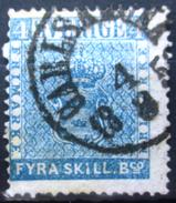 SUEDE             N° 2             OBLITERE - Suède