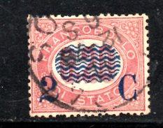XP3073 - REGNO 1878, Sassone Il N. 31 Usato