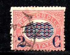 XP3074 - REGNO 1878, Sassone Il N. 31 Usato