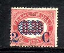 XP3076 - REGNO 1878, Sassone Il N. 32 Usato