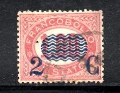XP3077 - REGNO 1878, Sassone Il N. 33 Usato