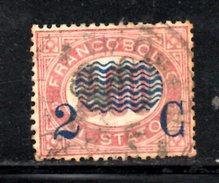 XP3078 - REGNO 1878, Sassone Il N. 34 Usato