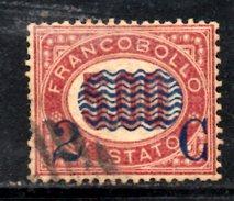 XP3079 - REGNO 1878, Sassone Il N. 35 Usato