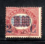 XP3080 - REGNO 1878, Sassone Il N. 36 Usato