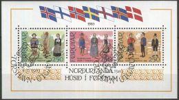 FÄRÖER 1983 MI-NR. Block 1  O Used - Färöer Inseln