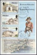 GIBRALTAR 1983 MI-NR. Block 8 O Used - Gibraltar