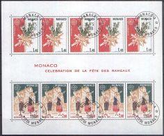 MONACO 1981 MI-NR. Block 17 O Used