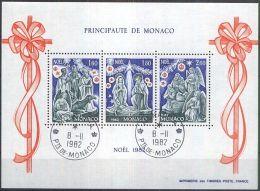 MONACO 1982 MI-NR. Block 21 O Used