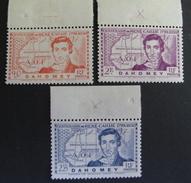 LOT R3586/645 - COLONIES FR. - DAHOMEY - N°110 à 112 BdF - NEUFS * - Cote : 5,50 € - Dahomey (1899-1944)