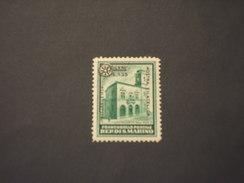 SAN MARINO - 1934 PALAZZO/FIERA  1,25 Su 20 - NUOVO(+)