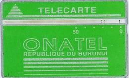 BUR-02f : 50u Green 808L  Only 8000 Printed  (x) - Burundi
