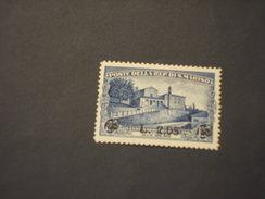 SAN MARINO - 1936 S. FRANCESCO  2,05 Su 1,25 - NUOVO(++)