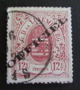 LOT R3586/596 - 1875 - GRAND DUCHE DU LUXEMBOURG (SERVICE) ARMOIRIES - N°15 - Cote : 120,00 €