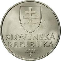 Slovaquie, 5 Koruna, 2007, FDC, Nickel Plated Steel, KM:14 - Slovaquie