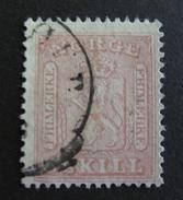 LOT R3586/590 - 1863 - NORVEGE - ARME - N°9 - Cote : 45,00 €