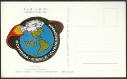 Yugoslavia Croatia Zagreb 1968 / Apollo 7 / Crew: Schirra, Eisele, Cunningham / Space - Brieven & Documenten