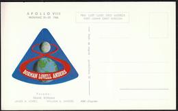 Yugoslavia Croatia Zagreb 1968 / Apollo 8 / Crew: Borman, Lovell, Anders / Space / First Lunar Orbit Mission - Brieven & Documenten