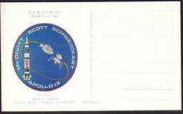 Yugoslavia Croatia Zagreb 1969 / Apollo 9 / Crew: McDivitt, Scot, Schweickart / Space - Brieven & Documenten