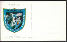Yugoslavia Croatia Zagreb 1969 / Apollo 10 / Crew: Stafford, Young, Cernan / Space - Brieven & Documenten