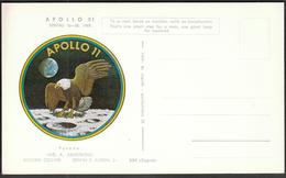Yugoslavia Croatia Zagreb 1969 / Apollo 11 / Crew: Armstrong, Collins, Aldrin / Space - Brieven & Documenten