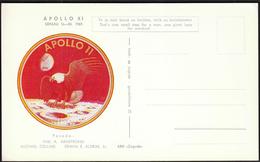 Yugoslavia Croatia Zagreb 1969 / Apollo 11 / Crew: Armstrong, Collins, Aldrin / Space - Briefe U. Dokumente