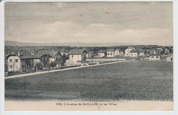 CPA 74 1008 GAILLARD L'avenue Et Les Villas - Annemasse