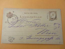 Wien Austria Temesvár Timisoara Romania Hungary Postcard 1881