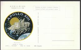 Yugoslavia Croatia Zagreb 1970 / Apollo 13 / Crew: Lovell, Swigert, Haise / Space - Brieven & Documenten