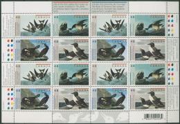 Kanada 2003 J.J. Audubon: Kormoran, Ringelgans 2105/08 K Postfrisch (SG6362)