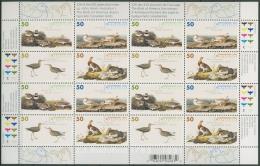 Kanada 2005 J. J. Audubon: Regenpfeiffer 2264/67 K Postfrisch (SG6363)