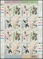 Kanada 2004 J.J. Audubon Seidenschwanz Hudsonmeise 2193/96 K Postfrisch (SG6363)