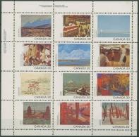 Kanada 1982 Kanada-Tag: Kanada Aus Sicht Von Malern 835/46 K Postfrisch (C73503)
