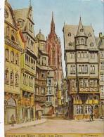Germany Frankfurt am Main Blick zum Dom