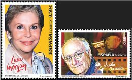 ESPAGNE SPANIEN SPAIN ESPAÑA 2017 CINEMA: LINA MORGAN & VICENTE ARANDA SET 2V. ED 5147-48