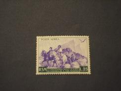 SAN MARINO - P.A. 1949 ANITA E GARIBALDI  L. 25 - NUOVO(+)