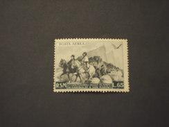 SAN MARINO - P.A. 1949 ANITA E GARIBALDI  L. 65 - NUOVO(++)